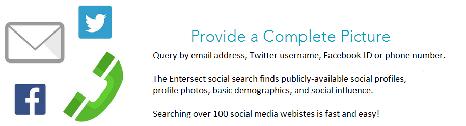 Entersect Social Media Search